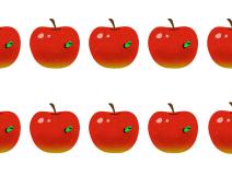 虫食いリンゴはいったい何個?